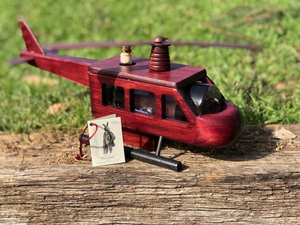 Holz Helikopter 0,35 l