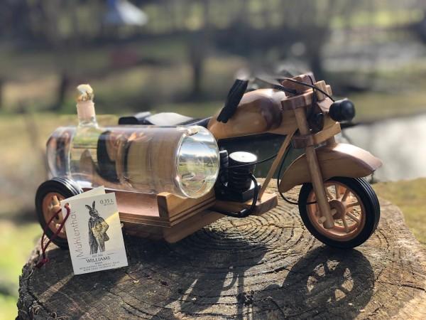Holz Motorrad 0,35 l